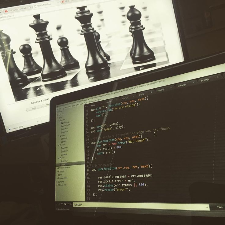 So we have a game were developing in NodeJS w/ Express.JS and EJS. I'm hiding the chicken wings behind the computer. Just thought I let you guys know what you missed out on. They were  yes I'm bragging.  #javascript #nodejs #express #chess #html #css #ejs #love #passion #development #software #chickenwings #chicken #everythingonfleek