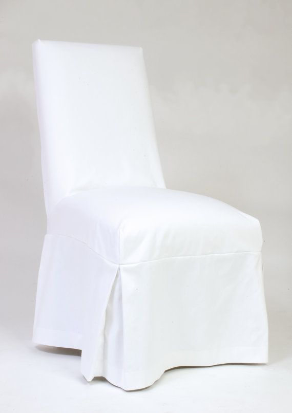 Custom Parsons Chair Slipcovers By CustomChairCoverings On Etsy Dining SlipcoversParsons ChairsDining Table