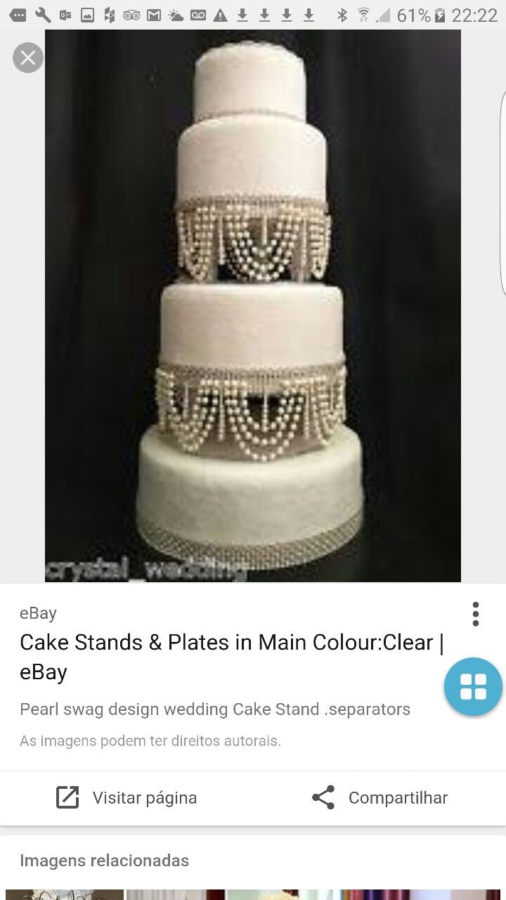 Dorable Ebay Wedding Cake Stands Collection - The Wedding Ideas ...