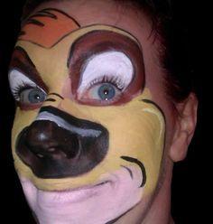 timon and pumbaa mask - Google Search