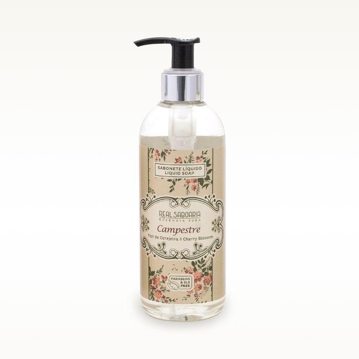 300ml Sabonete Líquido | Liquid Soap BRISA CAMPESTRE