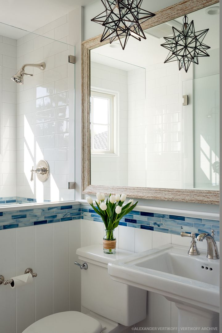coastal bathroom | Debra Lynn Henno Design