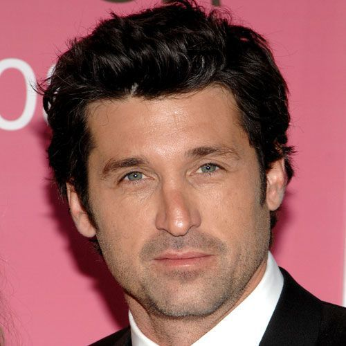 Pictures of Men's Celebrity Haircuts: Patrick Dempsey: The Fabulous Hairstyle of TV's McDreamy
