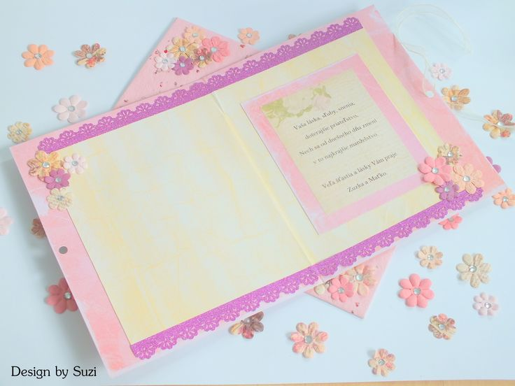 Scrapbook Wedding Greeting Card