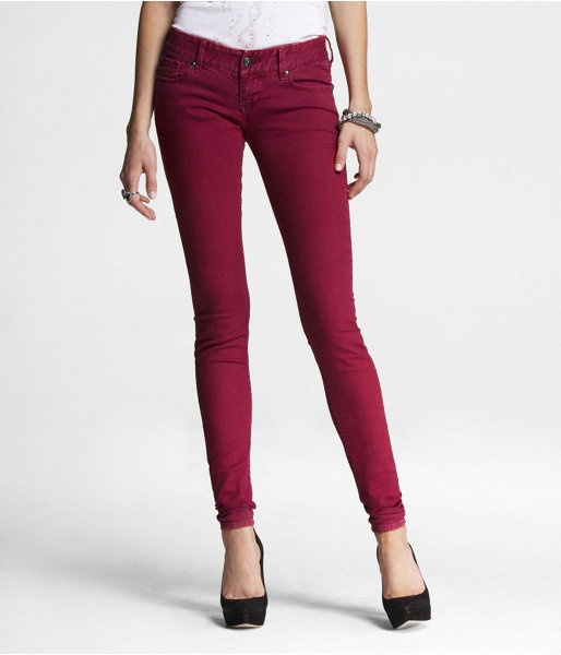 20 best images about Red Jeans on Pinterest | Ruby red, Coated ...