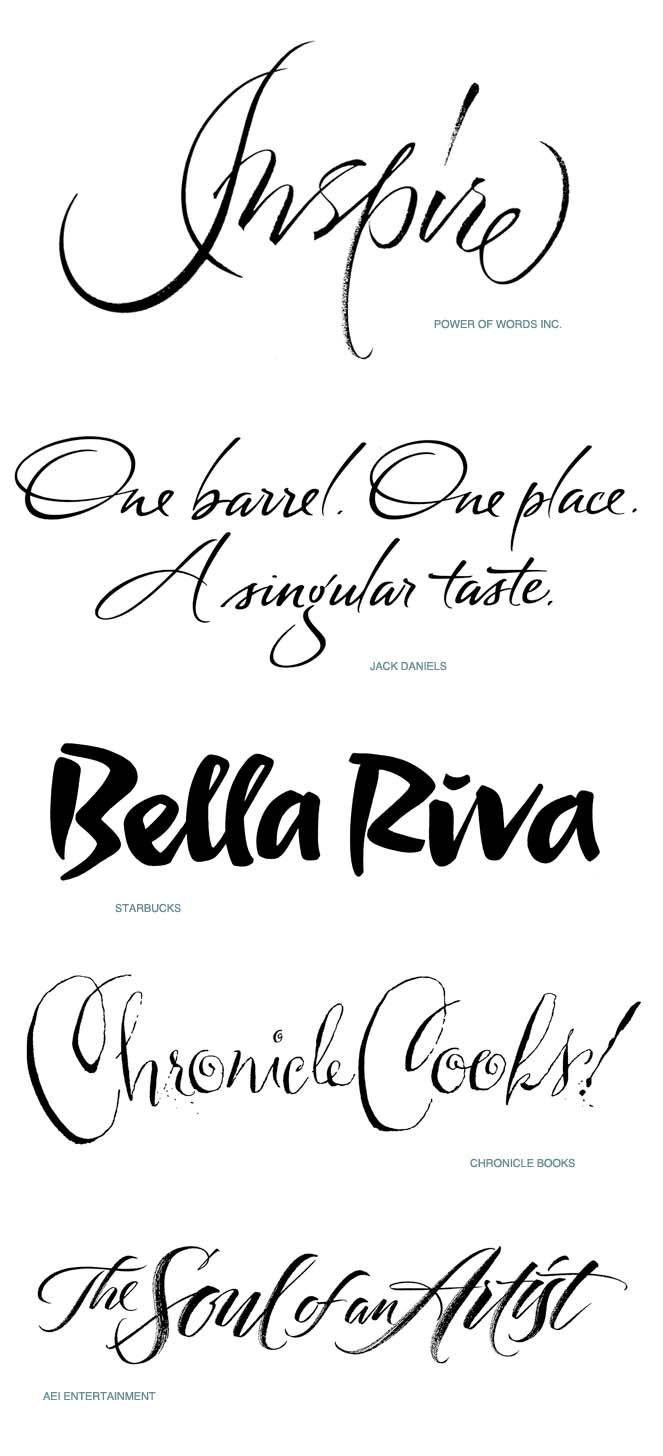 Alphabet roadtrip lettering design calligraphy by