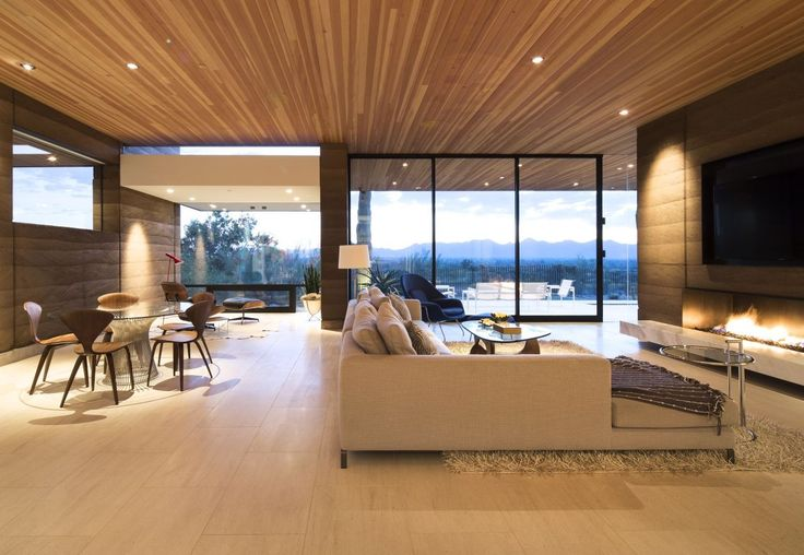 Image 4 of 19 from gallery of Rammed Earth Modern / Kendle Design. Photograph by Winquist Photography