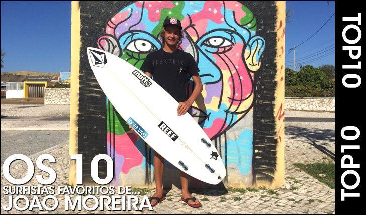Quem são os surfistas favoritos dos teus surfistas favoritos?