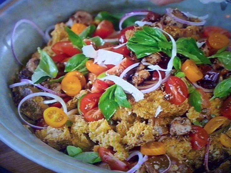 La+cucina+tradotta+di+Jamie:+La+panzanella+a+modo+mio
