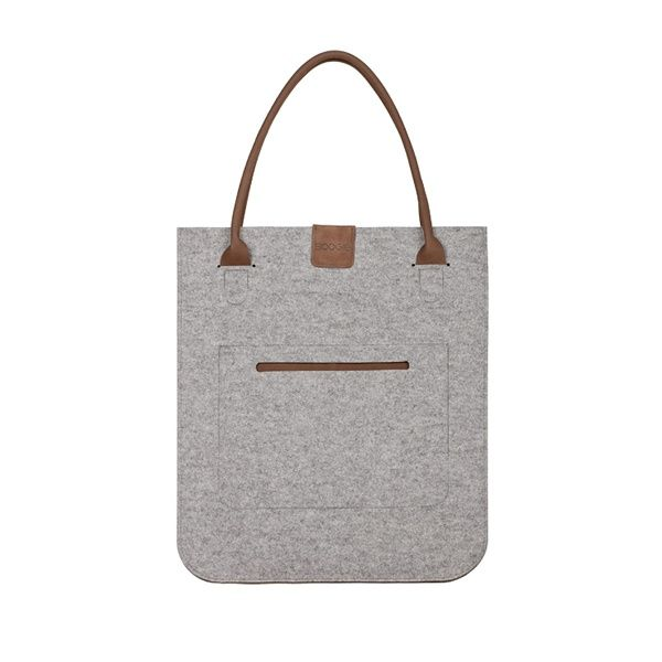 "URBAN felt bag - Boogie Design  URBAN felt bag - so called ""Giant"", is made of woolen felt and natural leather."