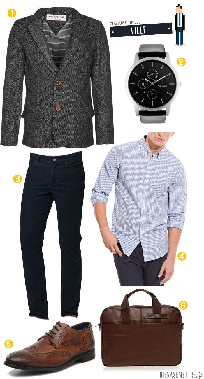 comment s 39 habiller pour aller au travail nos conseils pour les hommes blog et bureaux. Black Bedroom Furniture Sets. Home Design Ideas