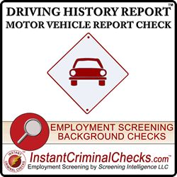 Motor vehicle report checks are obtained from each state's department of motor vehicles (DMV). Most states will report the last 3 to 5 year of driving history. #DMVCheck #DrivingHistory #MVRChecks http://www.instantcriminalchecks.com/dmv-motor-vehicle-report-check/