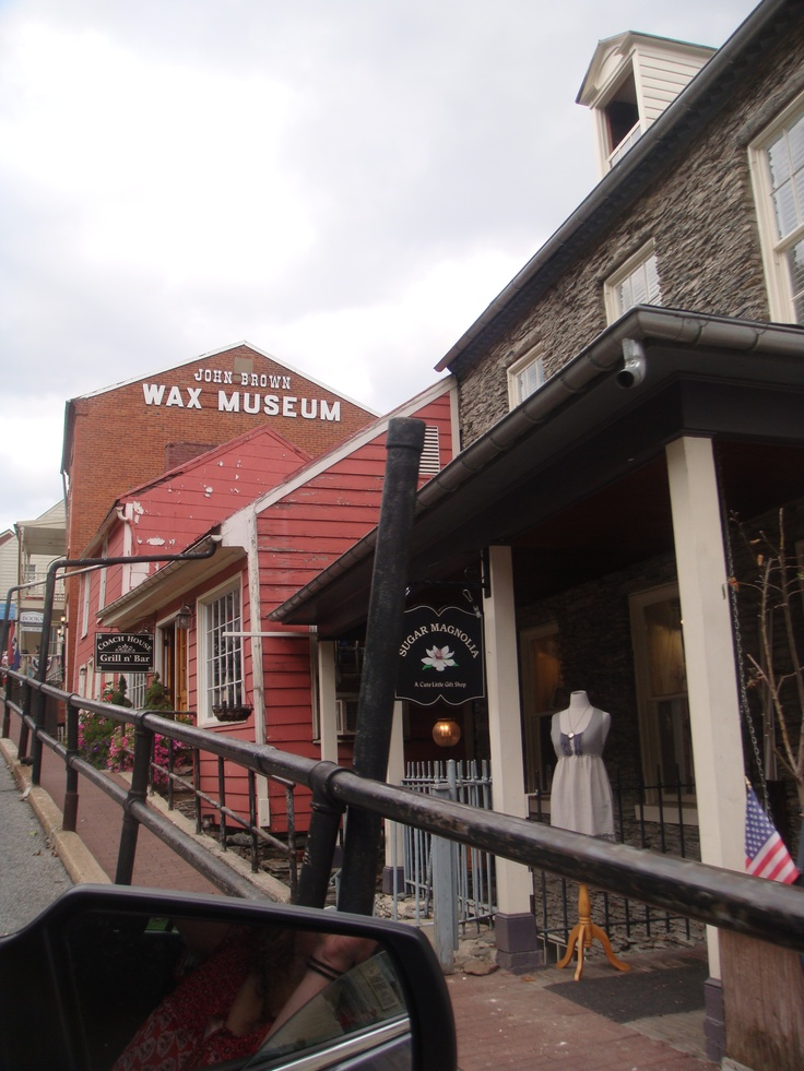 #High St, Harpers Ferry, WV  #Travel West Virginia USA multicityworldtravel.com We cover the world over 220 countries, 26 languages and 120 currencies Hotel and Flight deals.guarantee the best price: