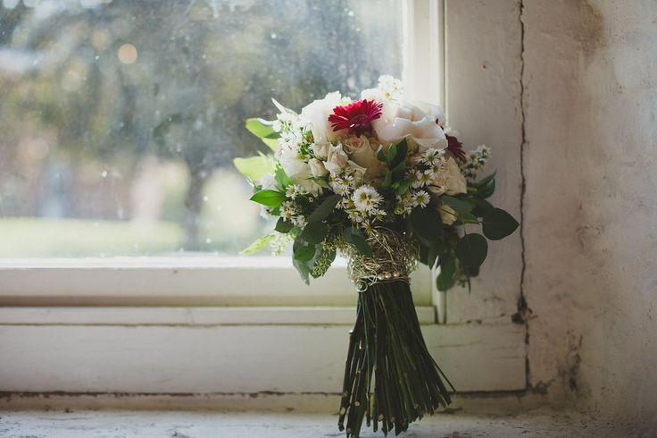 handtied rustic bouquet