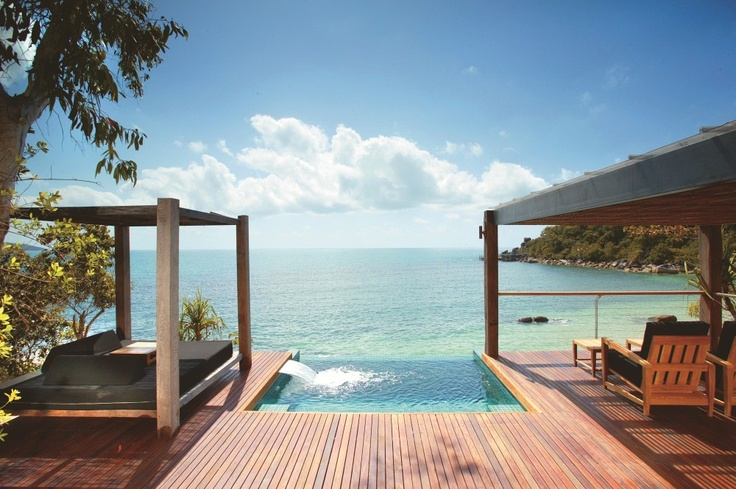 Pavilion Plunge Pool  is an all-inclusive, private, tropical haven – Australia's most unique resort, and the ultimate in barefoot luxury.