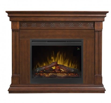 Dimplex - Electric Fireplaces » Mantels » Products » Alcott Mantel Electric Fireplace