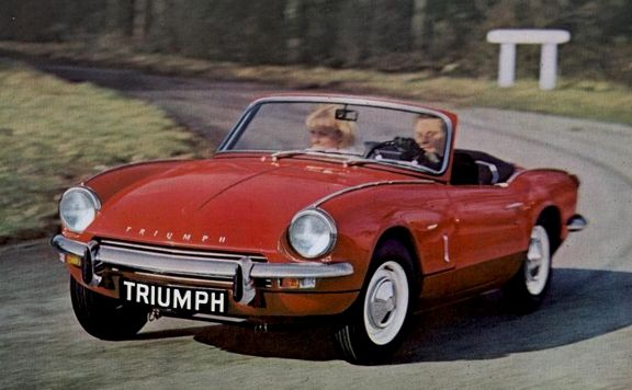 Triumph Spitfire 1960 S European Sports Cars Some 70s Pinter