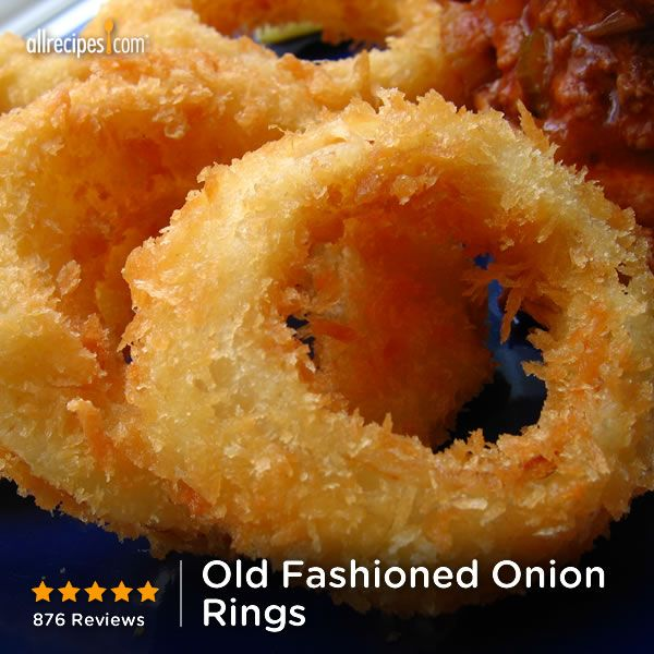 """Old Fashioned Onion Rings 