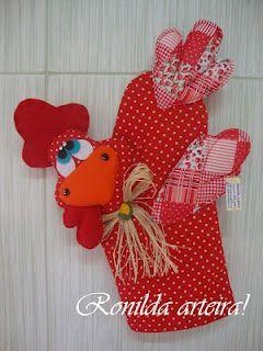 Ro *** Crochê & Artes em Tecidos e Feltros ** Criando Arts