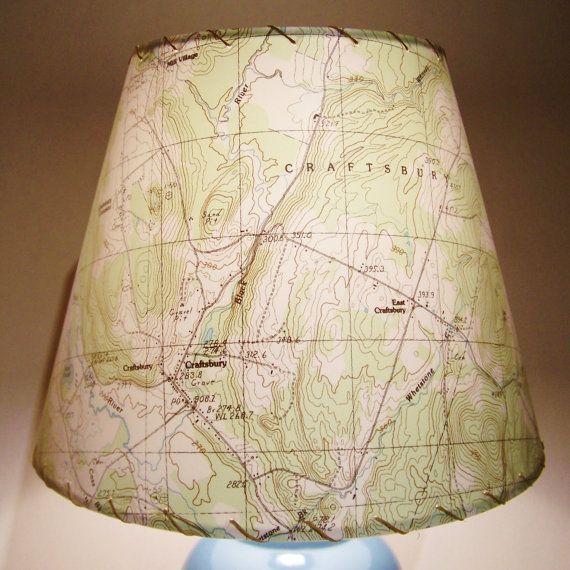 I really like this idea. I wonder how I can make my own lamp shade...of scotland.