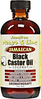 Jamaican Mango and Lime Black Castor Oil Coconut