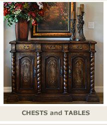 Old World Tuscan Dining Room Furniture Buffets Hutches Sideboards, Chests  Display Cabinets Tuscan Style Furniture