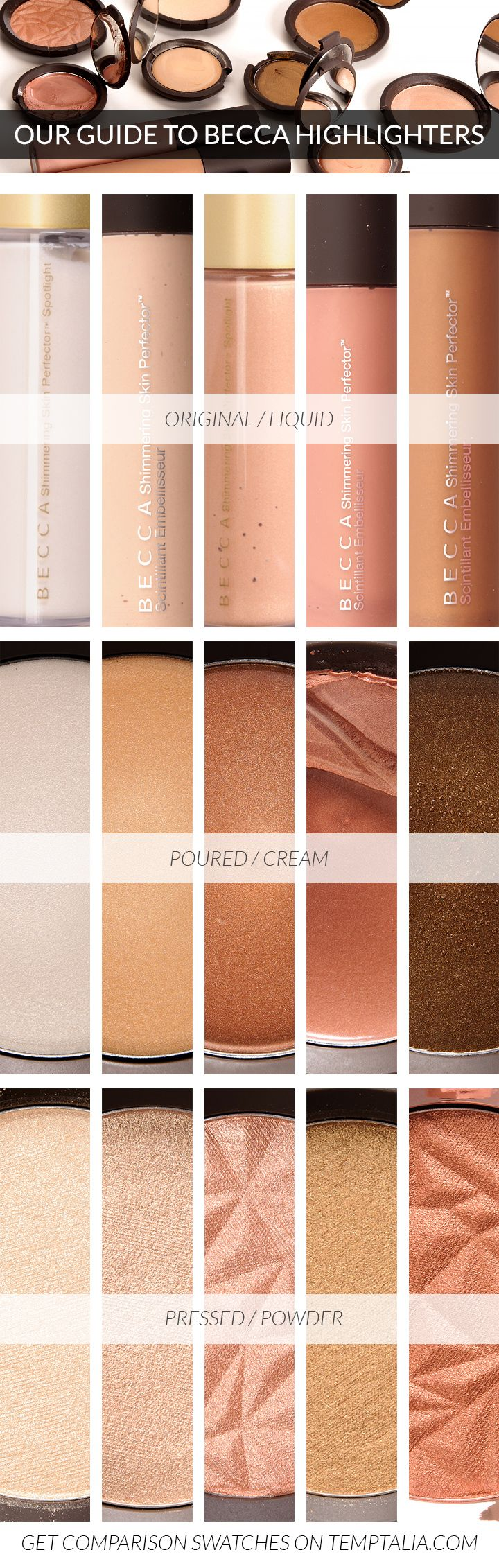 Get your glow with Becca highlighters at Ulta Beauty.