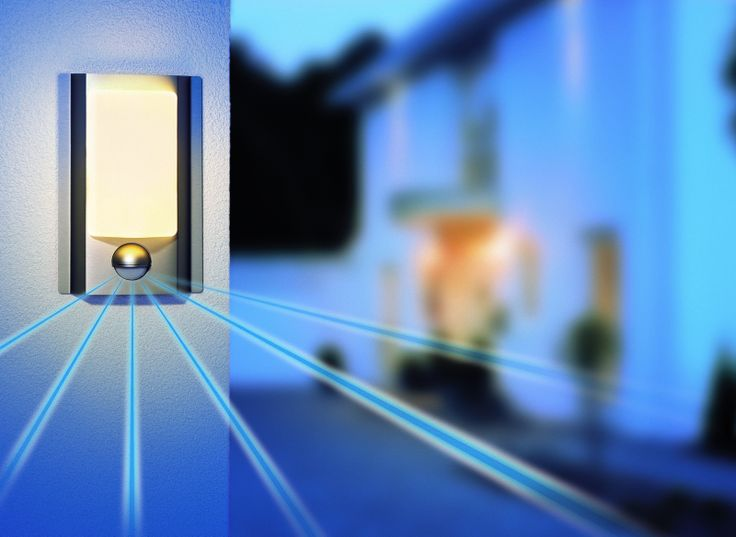 Outdoor Motion Sensor Wall Light From Steinel Can Help In Raising Safety Outside House
