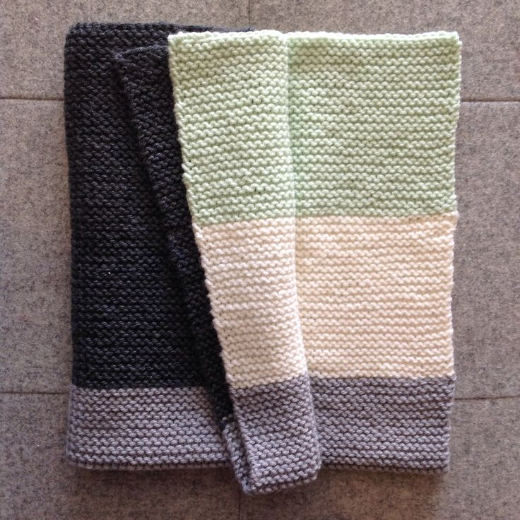 The beginner dk knitted pram blanket is complete! So quick & easy to knit...great gift idea...we also have a chunky & super chunky option for even faster knitting!