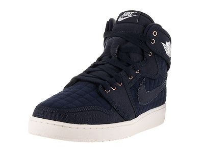 ... Nike Jordan Men's Jordan Aj1 Ko High Og Obsidian/White Mtlc Red Bronze