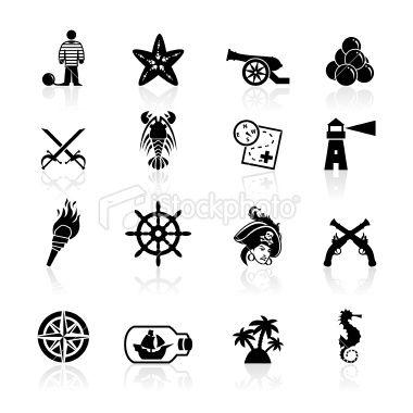 Pirate Symbols Symbols