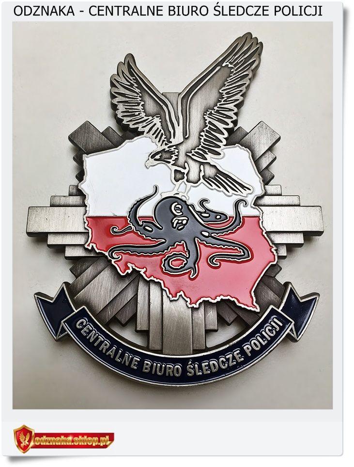 odznaka Centralne Biuro Śledcze Policji - CBŚ