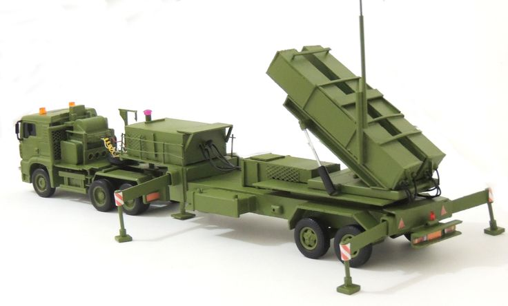 Patriot Missile Truck