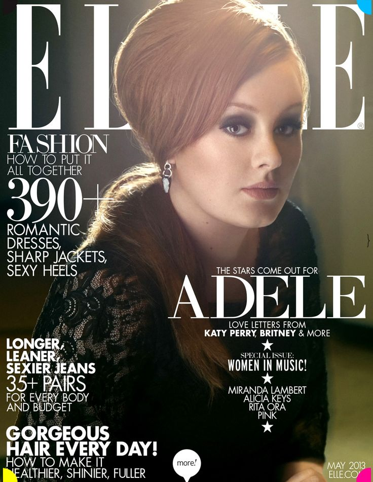 Adele - May 2013 US Cover