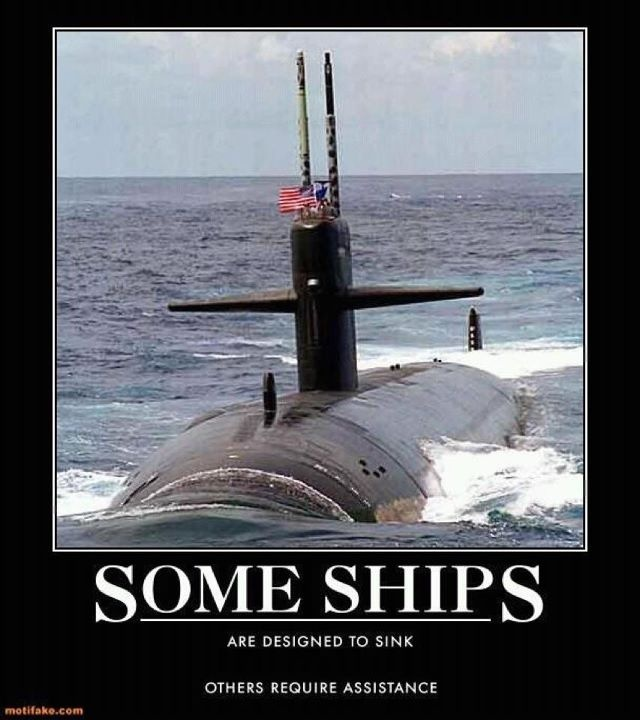 The Submarine....like having an invisible queen in chess!