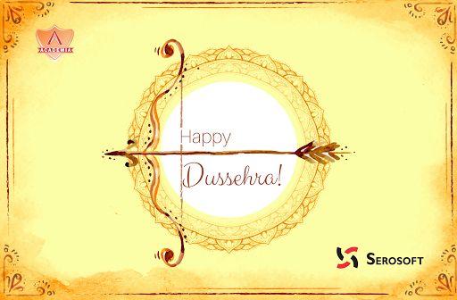 We wish you Happy Dussehra!