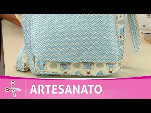 Vida com Arte | Bolsinha transversal por Adriana Dourado - 04 de Agosto de 2016 - YouTube