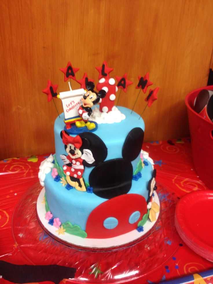 Mickey Mouse 1st bday | Happy Birthday to You.. Cha, cha, cha! | Pint ...