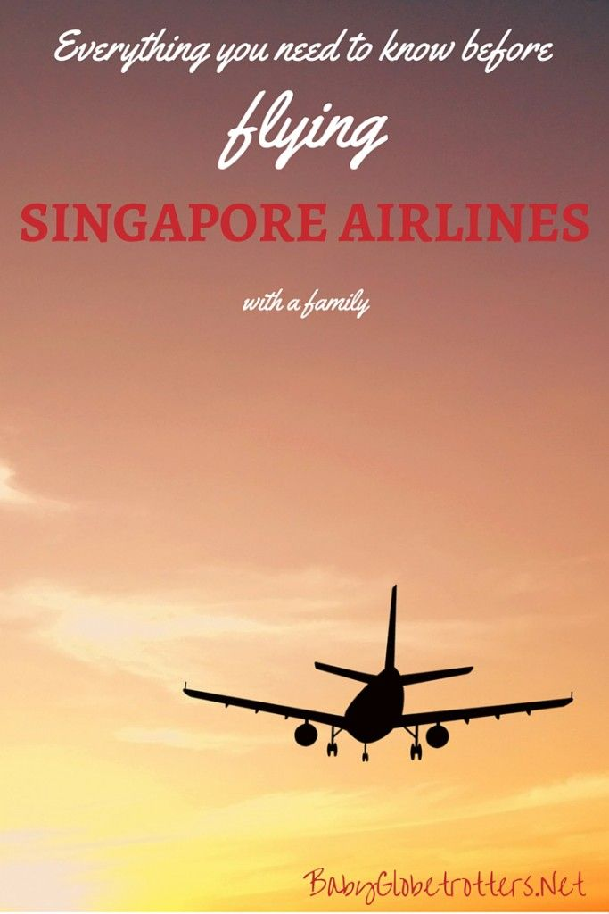 Everything you need to know before flying Singapore Airlines with a family | Guidance on pregnancy and infant policies, luggage allowances, unaccompanied minors and frequent flyer benefits for family members | Family Airline Reviews | BabyGlobetrotters.Net