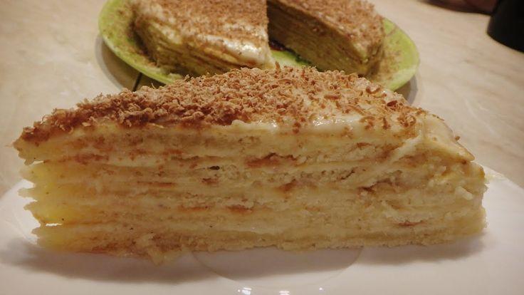 Творожный торт на сковороде. Просто и вкусно