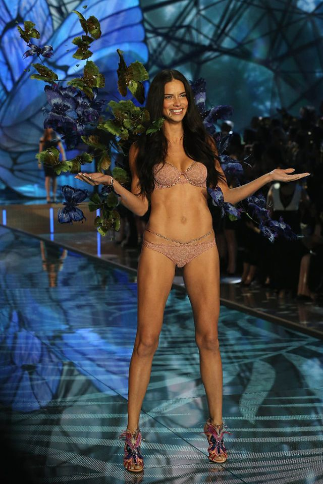 Adriana Lima Just Shared a Flat Belly Hack You Can Do At Home