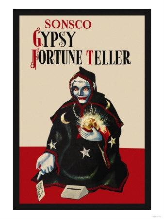 Gypsy Fortune Teller Bank