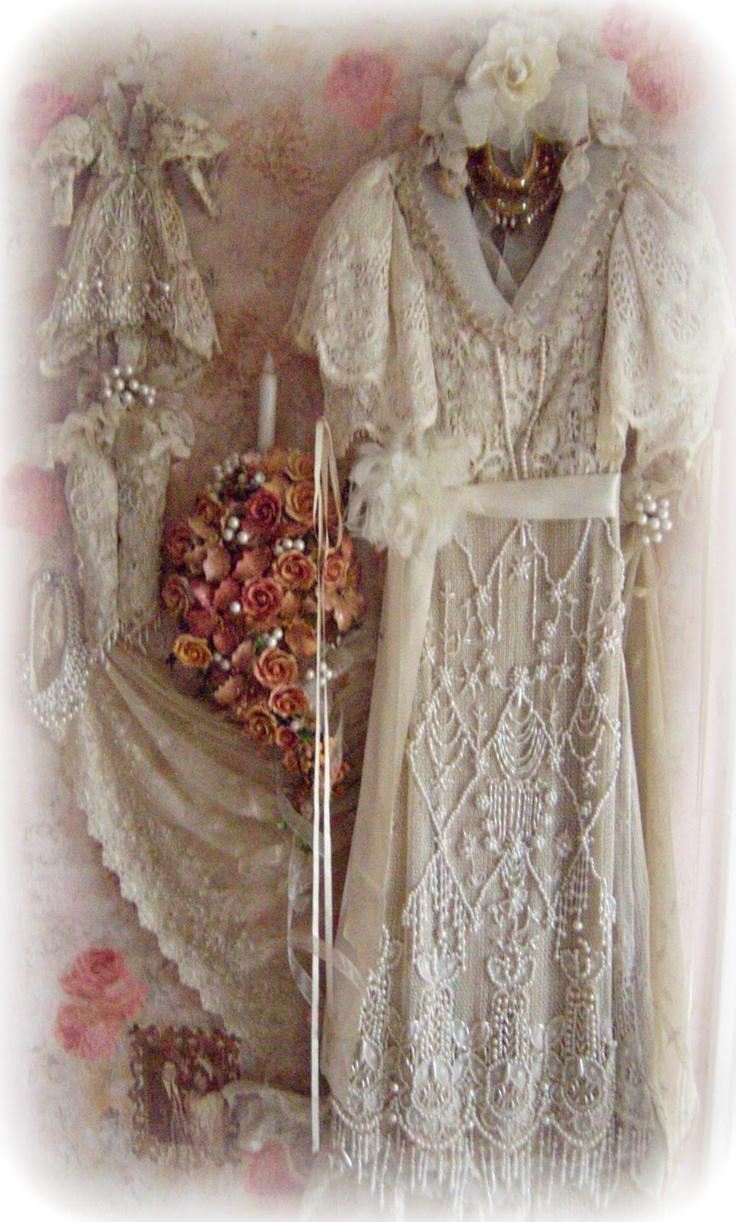 The 25+ best Wedding dress shadow box ideas on Pinterest   Wedding ...