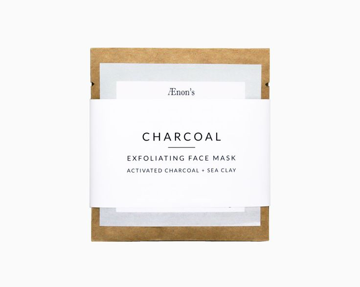 CHARCOAL - Exfoliating Face Mask