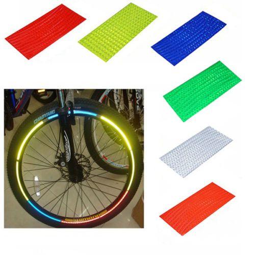 4x-Fahrrad-Aufkleber-Reflektor-Felgenaufkleber-Warnaufkleber-Sticker-6-Farben
