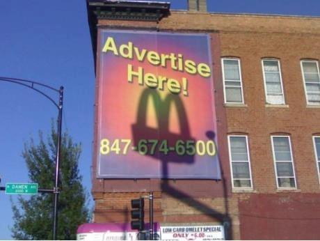 ambush marketing taken to a different level!!