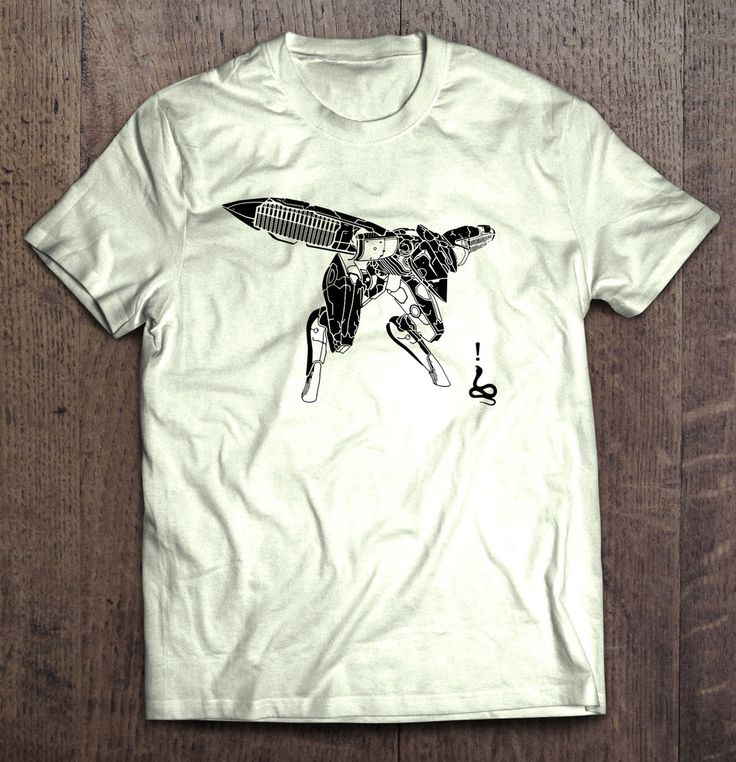 Metal Gear Solid - Snake Vs Ray T Shirt