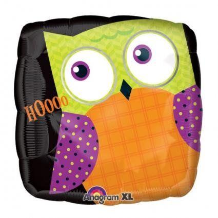 18 Happy Halloween Owl Anagram Balloons @ niftywarehouse.com #NiftyWarehouse #Halloween #Scary #Fun #Ideas
