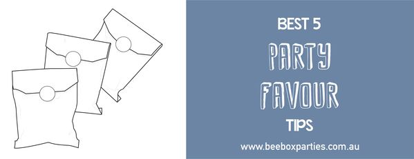 Party Favour Favor Tips and Ideas. Bee Box Parties has you covered at every step of the party process; our handy Best 5 Blogs are a welcome source of party inspiration and planning advice. https://beeboxparties.com.au/blogs/news