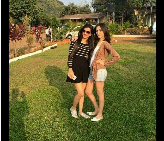 Tanya and Lovey in Lonavala